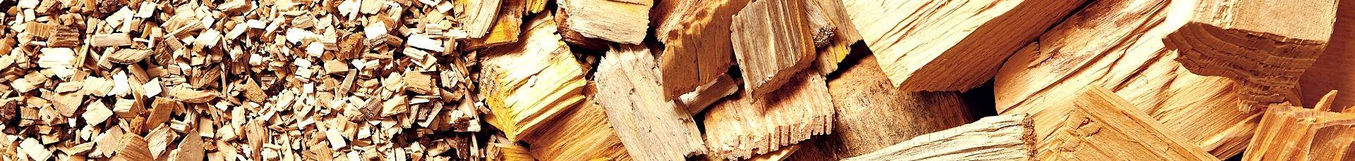 drewno rozdrobnione
